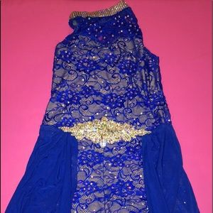 Blue Lyrical costume